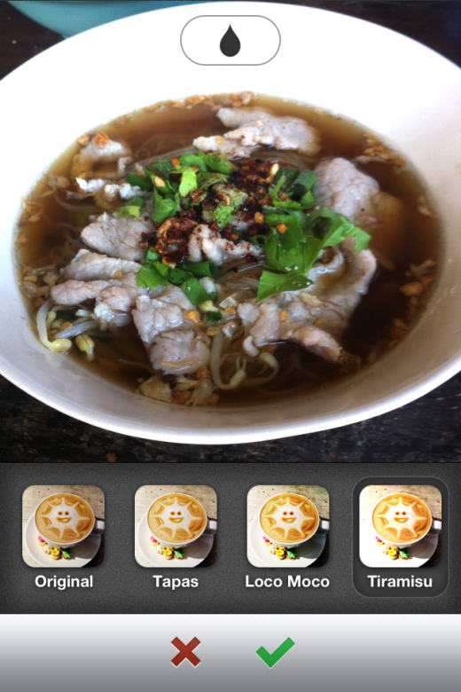 image 3 520x780 Food sharing app Burpple serves up photo filters to make your latest eats look even tastier