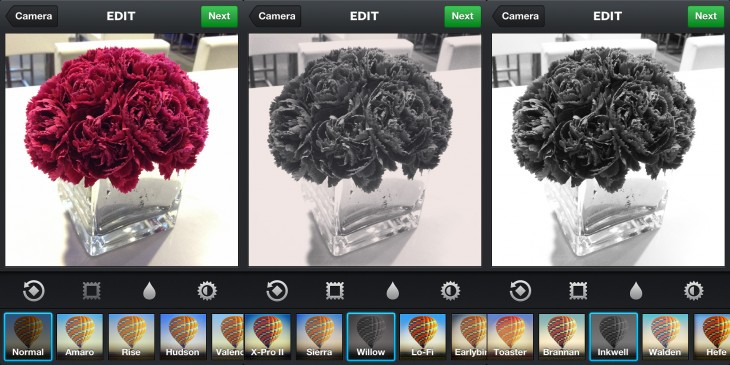 instagram willow filter 730x365 Instagram 3.2 is an impressive update that refines the camera experience and adds a new filter