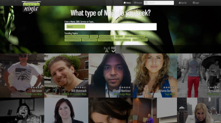 liveninja 2 730x407 LiveNinja gets out of private beta, raises $500k round to help you live chat with experts