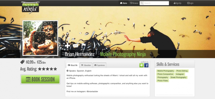 liveninja 3 730x337 LiveNinja gets out of private beta, raises $500k round to help you live chat with experts