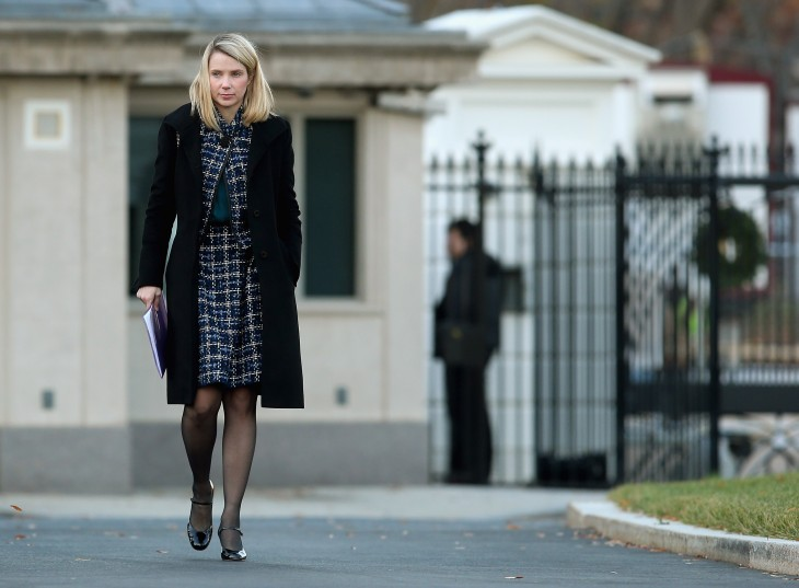 marissa mayer via getty images 730x537 2012s biggest tech news in pictures