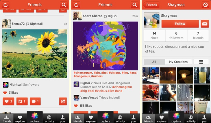 mzl.byrcdsri horz Popular GIF creation app Cinemagram update brings simplified editing, support for landscape videos