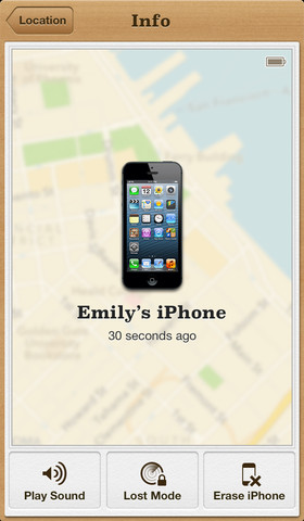 Apples Find My iPhone app now provides driving directions to your devices location on iOS 6