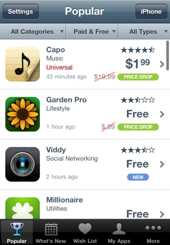 Apple removes popular AppShopper app from sale as it falls afoul of App Stores new app promotion clause