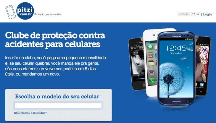 pitzi landing 730x415 Insurance club Pitzi starts expanding across Brazil, aims to reach one in three smartphone owners