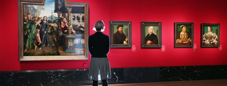 Photocall For The Launch Of The Northern Renaissance: Durer To Holbein Exhibition