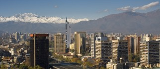santiago de chile via thinkstock
