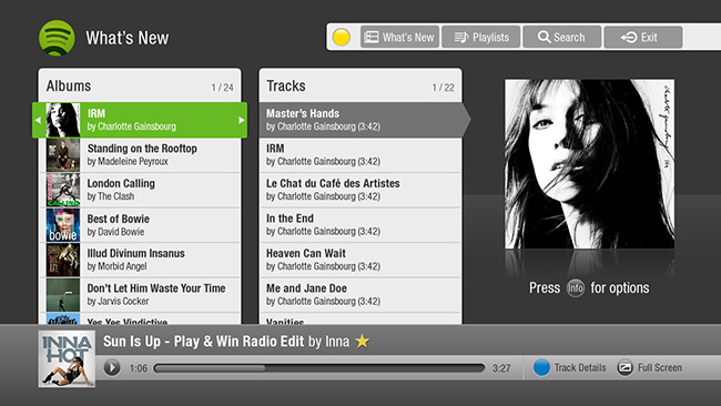 spotify whatsnew 650x366 Spotify lands on TiVo Premiere Boxes in the US, joining the likes of Pandora and Rhapsody