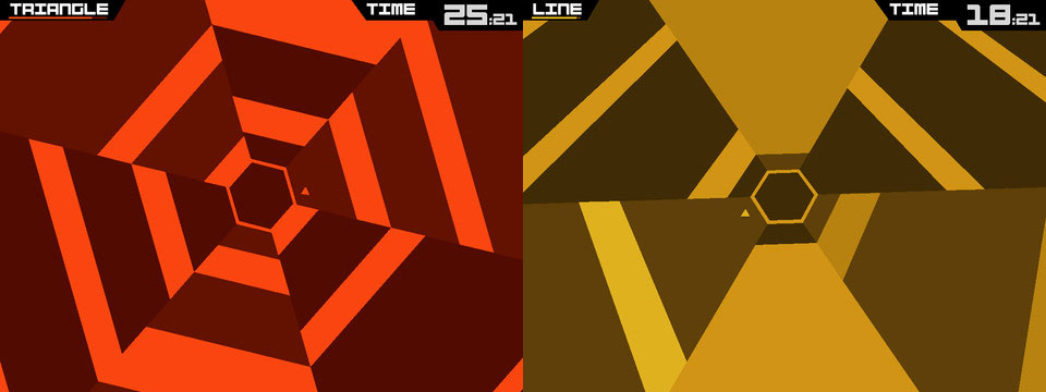 superhexagon 5 awesome games to keep you sane during the holidays