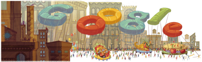 thanksgiving12 hp Our favorite Google Doodles from 2012