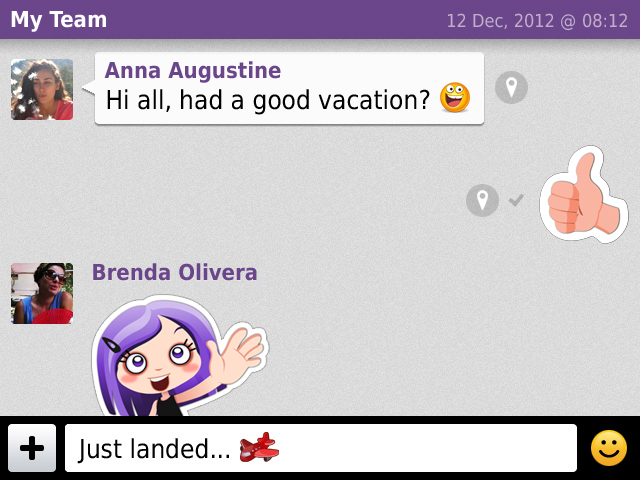Viber gives its BlackBerry app a new look as it preps for voice calling support in April