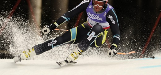 Norway's Aksel Lund Svindal competes in