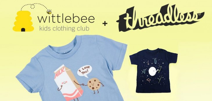 385226 10152411266210285 1301196696 n 730x348 Kids clothing club Wittlebee offers exclusive designs to its customers with new Threadless partnership