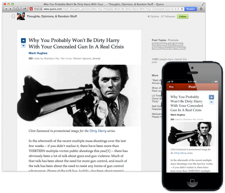 BlogsPressLarge 730x625 Quora expands into a blogging platform, promises rich text mobile editing soon