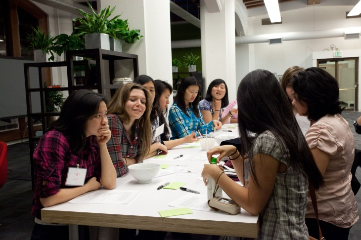 Dev Day Kickoff 5 730x486 Behind the scenes at Squares Code Camp: What 17 women are learning about the startup world