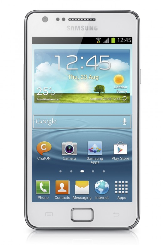 GALAXY S II Plus Product Image 1 520x780 Samsung unveils Galaxy S II Plus with 1.2 GHz dual core processor and Jelly Bean