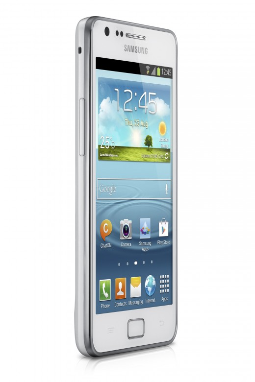 GALAXY S II Plus Product Image 4 520x780 Samsung unveils Galaxy S II Plus with 1.2 GHz dual core processor and Jelly Bean