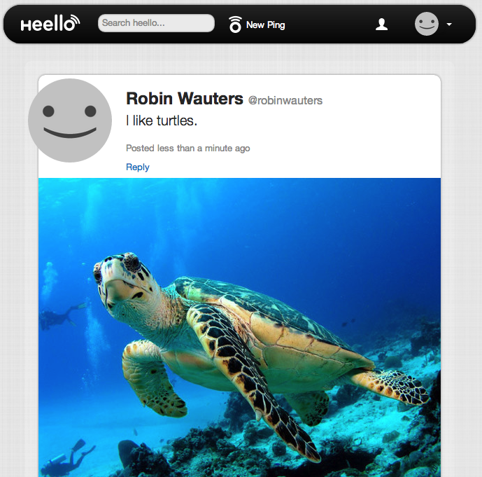 Heello 102501 Twitpic founder quietly relaunches Twitter rival Heello in beta: Like App.net, but free
