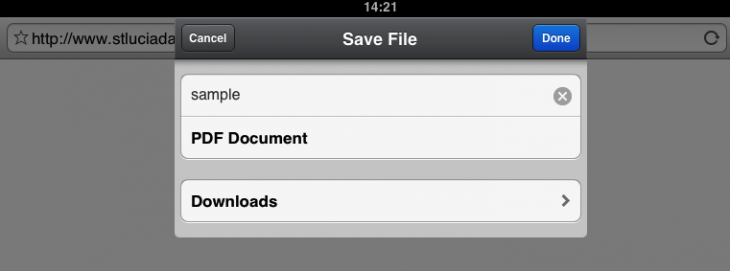 IMG 00571 730x271 Readdle's Documents is a lean but powerful iPad app for file management, document viewing and media playback
