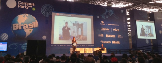 Rainey Reitman – EFF at Campus Party