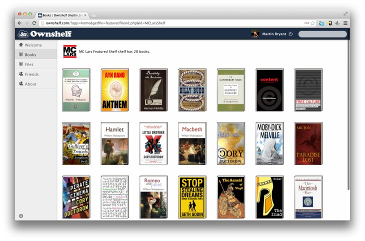 Ownshelf 730x482 Can Ownshelf, the Dropbox for ebooks, sail clear of lending controversy?