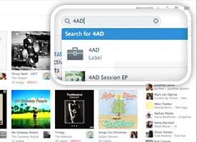 Rdio Rdio now lets you filter music by record label