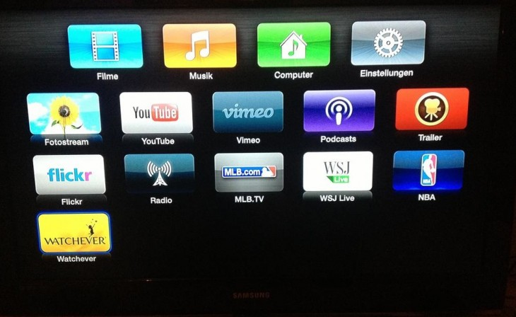 Screen Shot 2013 01 10 at 10.51.23 PM 730x448 Apple adds subscription TV and movie service Watchever to Apple TV in Germany