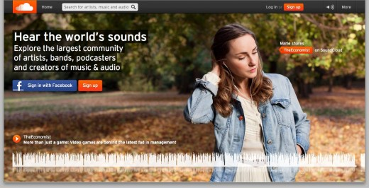 SoundCloud 1 520x266 A look inside Germanys startup industry: its startups, apps, entrepreneurs and VCs