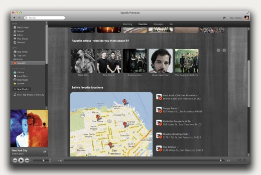Spotify Screenshot EN PLACES 520x349 Moosifys Spotify app lets you meet new people through a shared taste in music