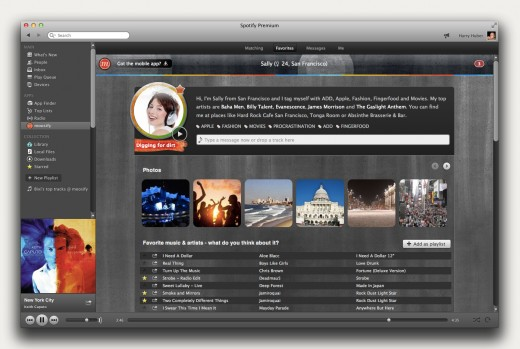 Spotify Screenshot EN PROFILE 520x349 Moosifys Spotify app lets you meet new people through a shared taste in music