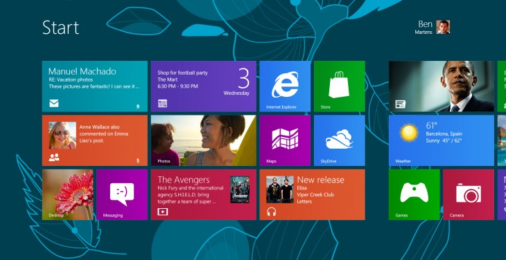 The Design Process Behind Windows 8's Start Screen Wallpaper