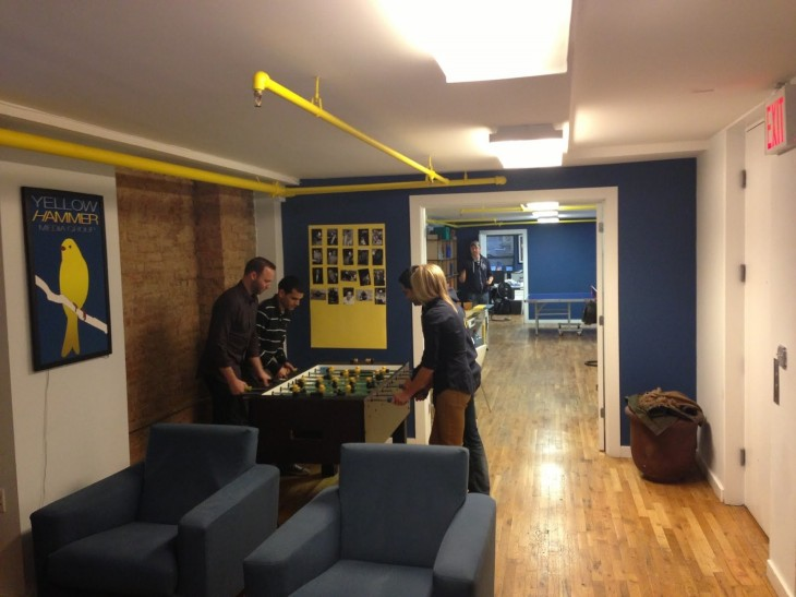 YellowHammer 03a 730x547 Awesome offices: Inside another 12 fantastic startup workplaces in New York
