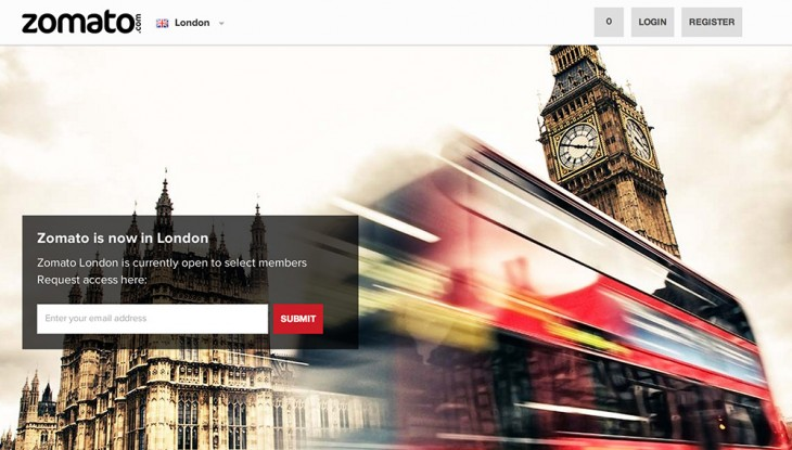 Zomato London 730x415 India based restaurant guide Zomato plates up in London, its first location in Europe