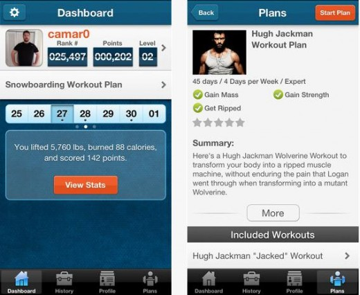a3 520x426 Pumping iron: WeightTraining.coms iOS app lets you log sessions, track stats and design workout plans