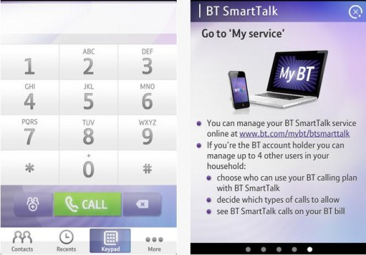 a6 520x362 BT launches SmartTalk, letting its UK customers access their home phone plan on their smartphone