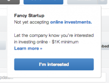 angellist online 2 220x169 AngelLists new online investment feature raises $1m for startups in its first month