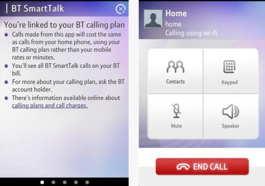 b6 520x365 BT launches SmartTalk, letting its UK customers access their home phone plan on their smartphone