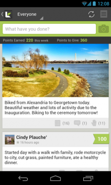 d5 220x366 LifeKraze launches its high fiving, accomplishment sharing social network on Android
