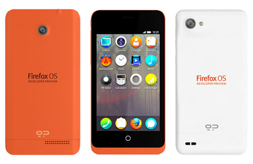 Mozilla announces Keon and Peak FirefoxOS developer preview phones