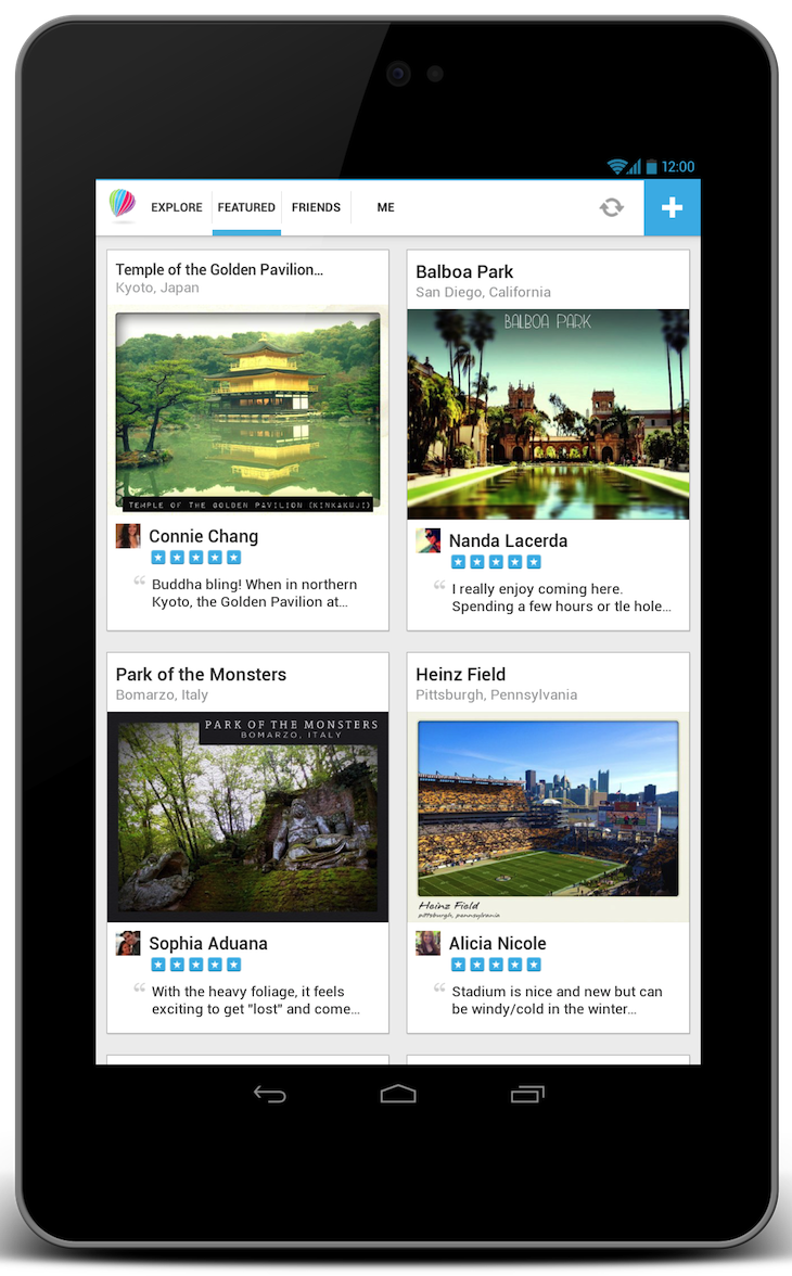 gogo2 With 10% of its 2.5m users booking hotels on the go, Gogobot brings social travel app to Android