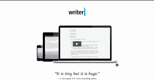 iawriter 520x275 29 new inspiring responsive designs on the web