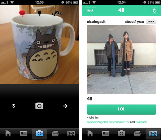 loopcamscreenshots2 Loopcam pushes its GIF sharing service in China with a new domain and filter for the Chinese New Year