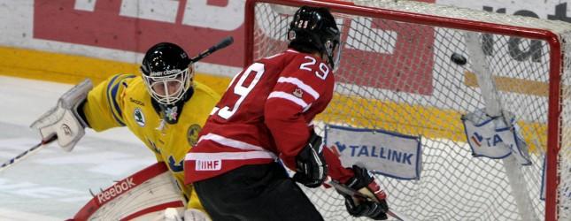 IHOCKEY-U20-CANADA-SWEDEN