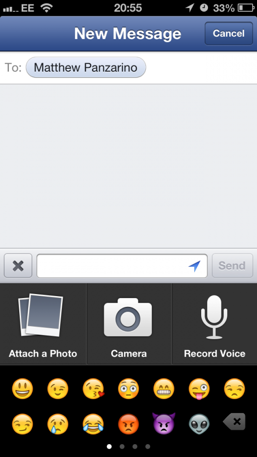 photo 12 520x923 Facebook app for iOS gets voice and video recording, voice message support and improved Nearby tab