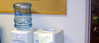 water cooler leaks allaboutgeorge flickr