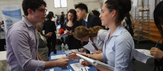 Job Fair Held In New York