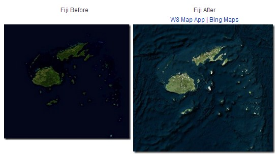 2013 02 28 10h29 08 Bing Maps adds 13M square kilometers of high res data, better ocean mapping and reduced cloud interference