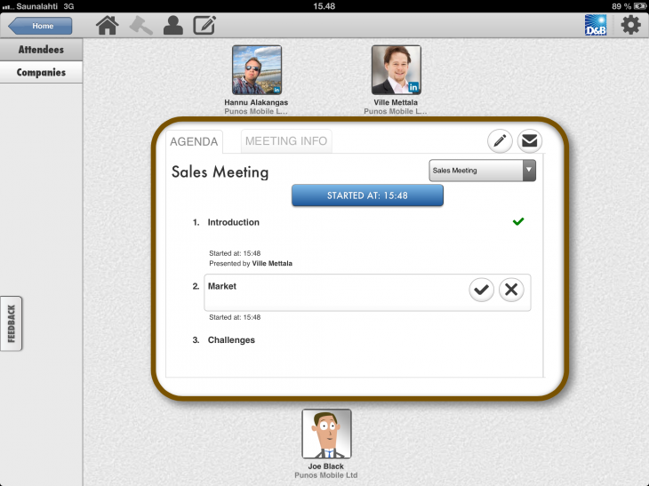 Agenda 730x547 Meeting Assistant for iPad wants to change the game for organizing and managing business meetings