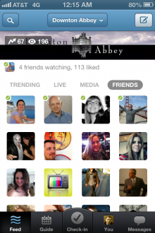 GetGlue Show 220x330 GetGlue gives its iPhone app more TV show content and promoted posts, plans remote control features