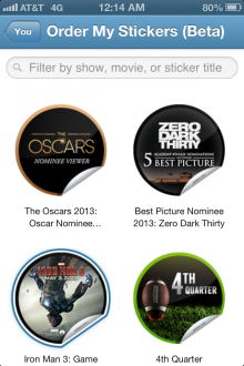 GetGlue Stickers 220x330 GetGlue gives its iPhone app more TV show content and promoted posts, plans remote control features